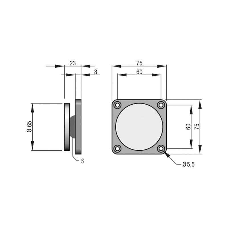 Ankerplatte ASS 65 - 2