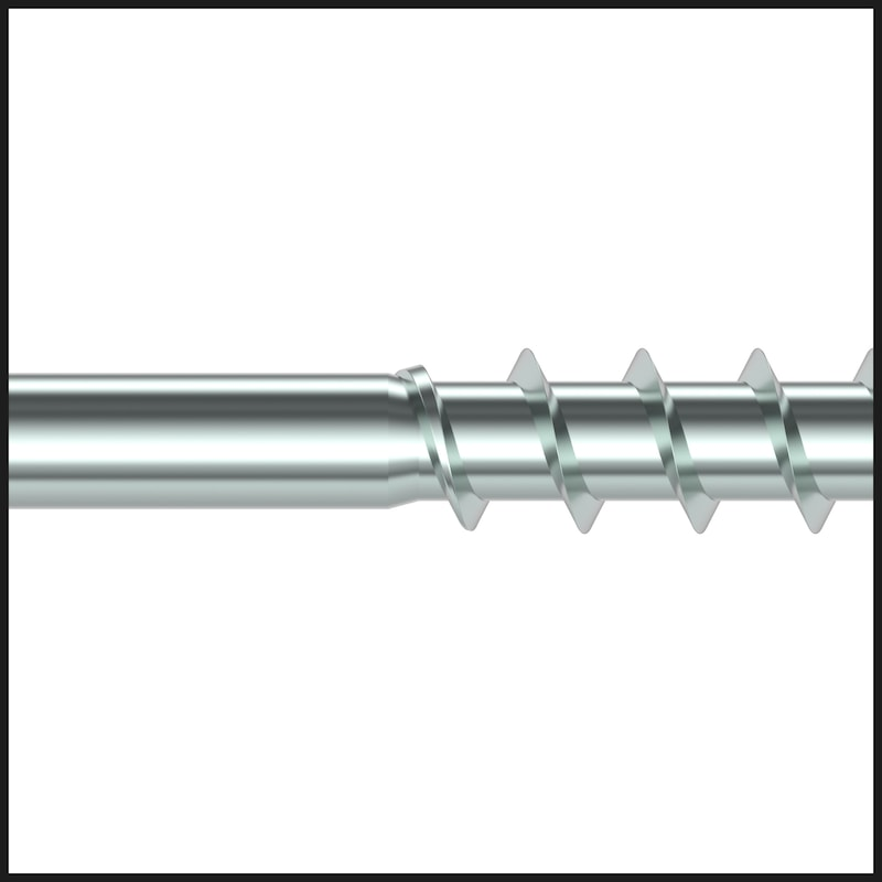 ASSY<SUP>®</SUP> 4 CSMP Universal screw steel zinc-plated partial thread countersunk head with milling pockets - 6