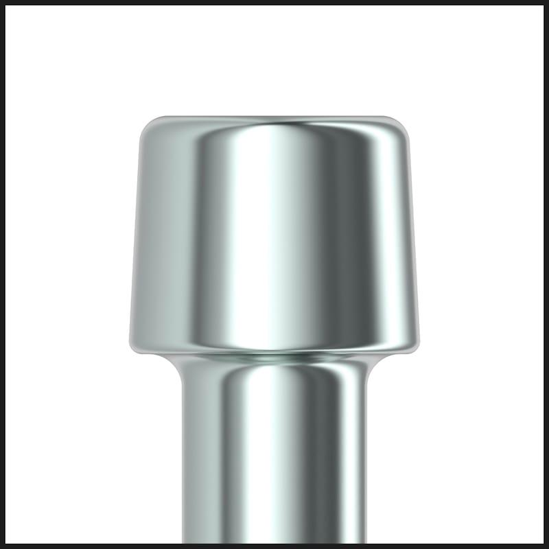 Vis de toiture ASSY<SUP>®</SUP> 4 Isotop Acier zingué, double filetage, tête cylindrique - 4