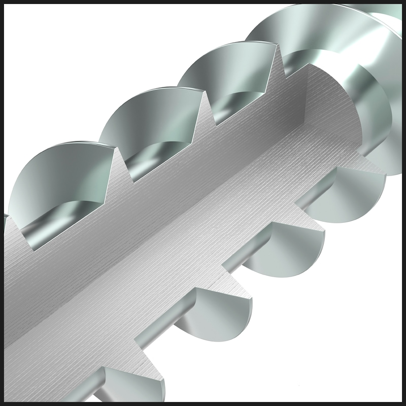 ASSY<SUP>®</SUP>plus 4 A4 SRCS TERRACE Terrassenbauschraube Edelstahl A4 blank Teilgewinde Linsensenkkopf - 9