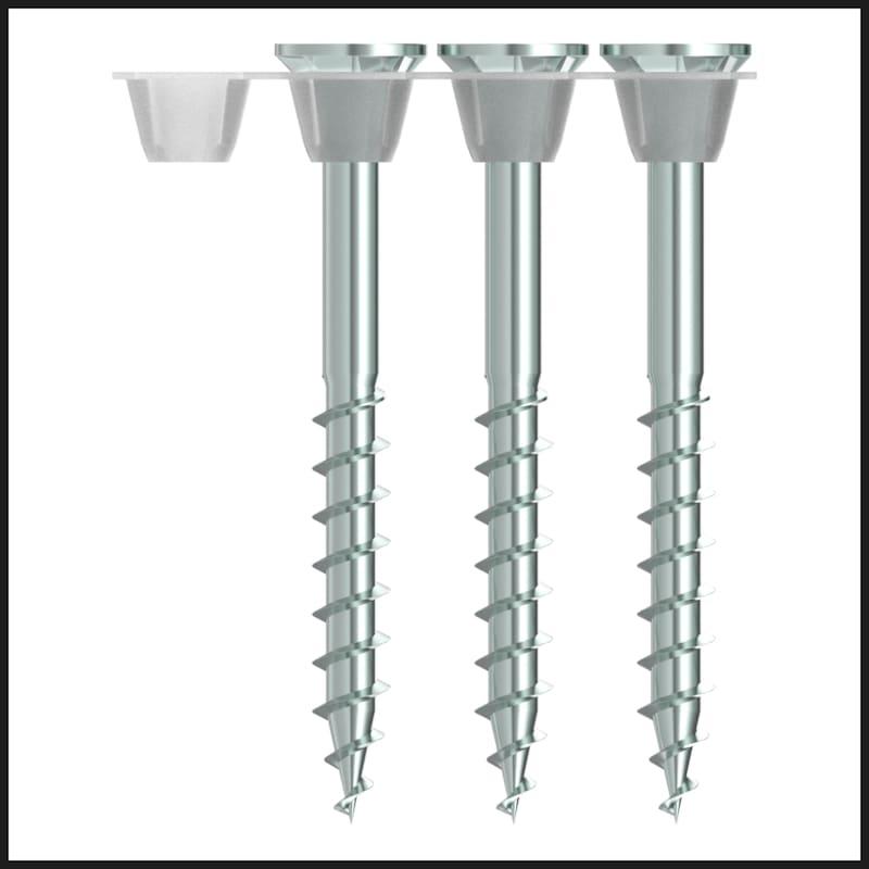 ASSY<SUP>®</SUP>plus 4 CSMP Universalschraube magaziniert Stahl gehärtet verzinkt Teilgewinde Senkkopf - 10
