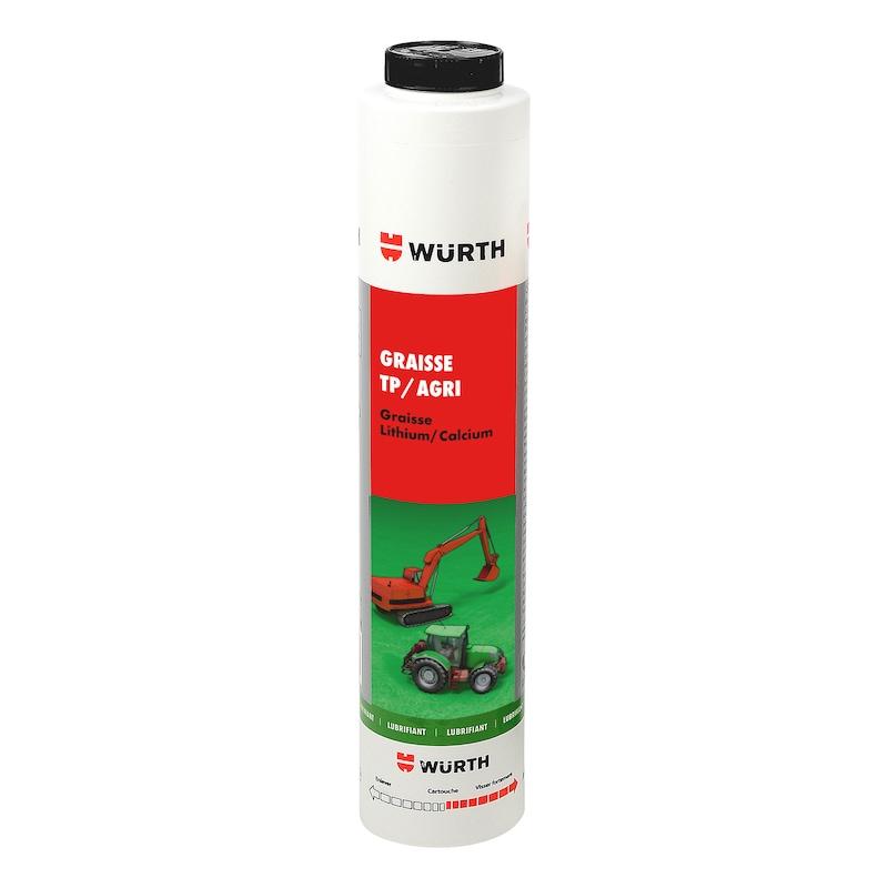 Graisse lubrifiante multi-usage, engins chantier  - 0