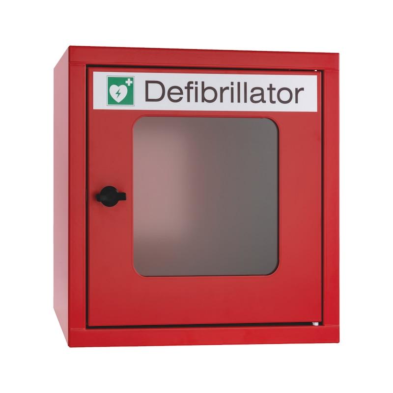 Wandschrank für Defibrillatoren