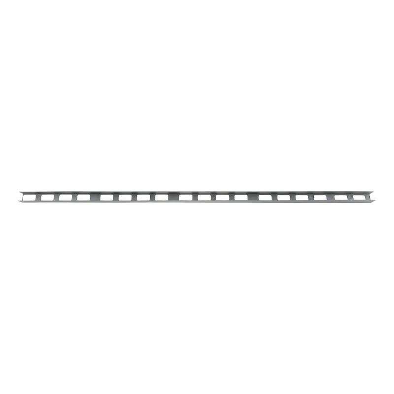 Distanzleiste/Drunterleiste - DISTLST-VOLL-KST-HORIZ-L2M-BD40MM