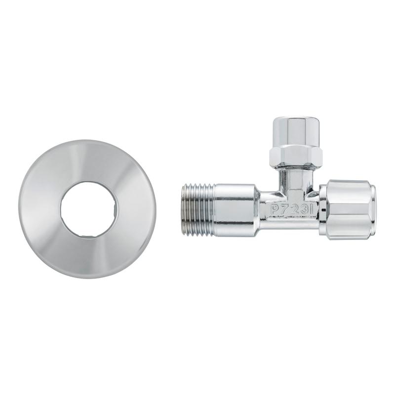 "Válvula de corte angular DIN, 1/2"" - VALV.CORTE 1/2"""