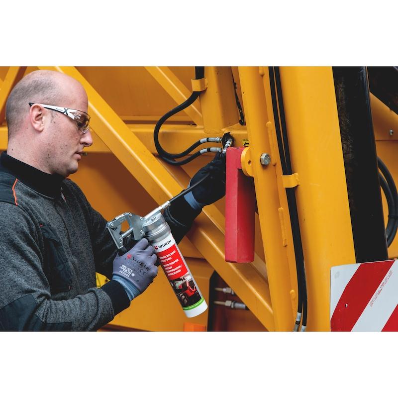 Single-handed grease guns - SNGLHNDGRSEGUN-500G-CART