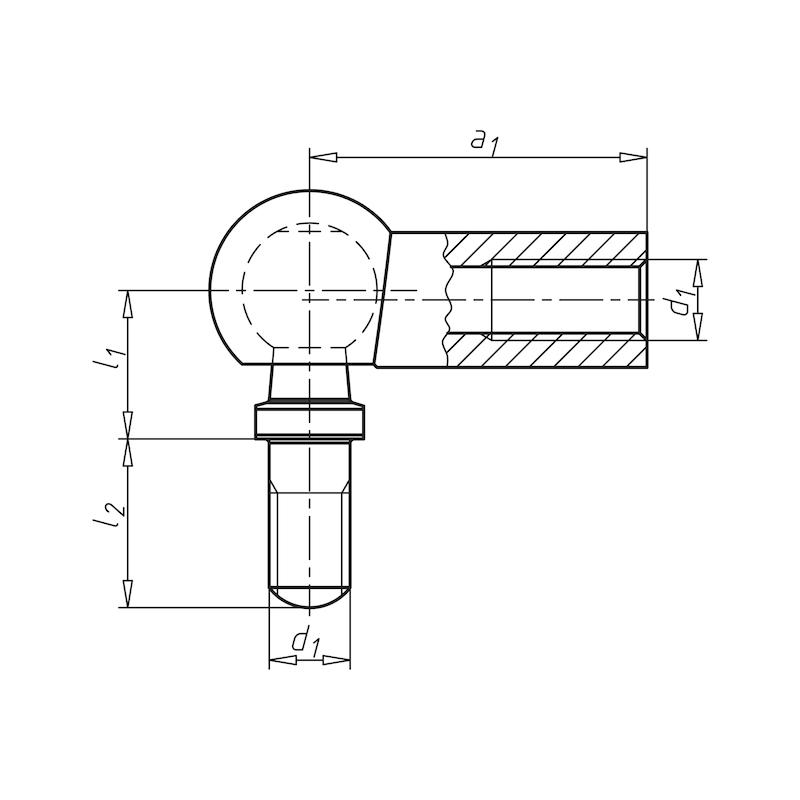 Winkelgelenk Form C - 2