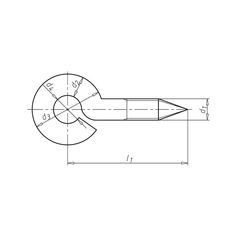 Crochet à anneau - 2
