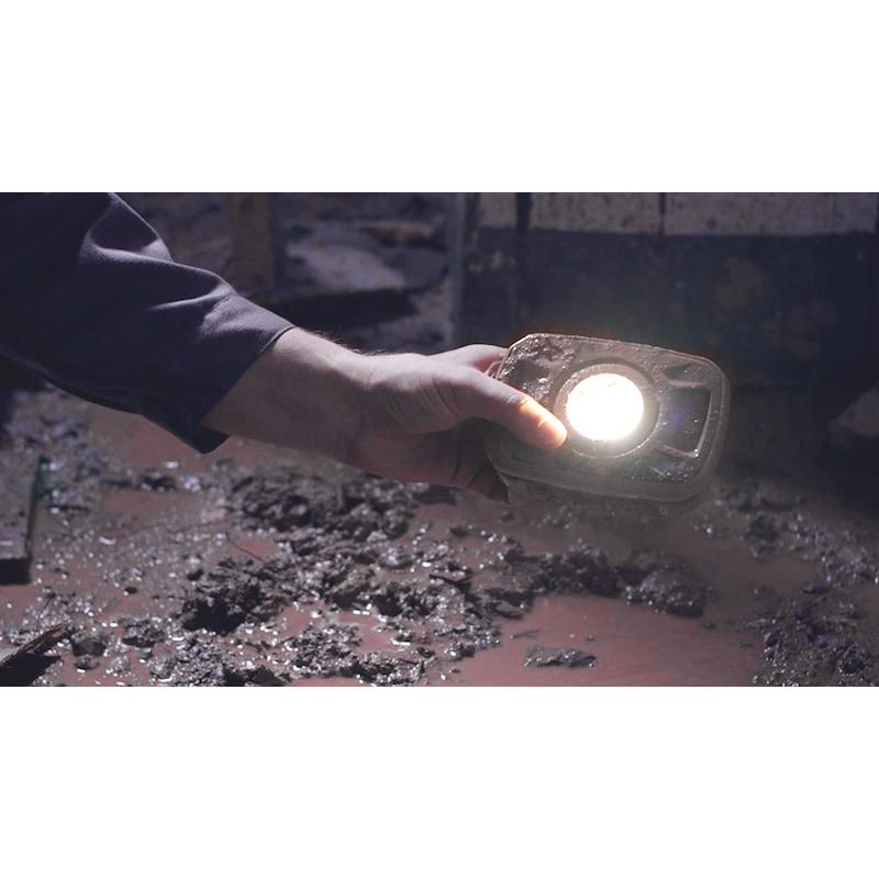 LED-Arbeitsleuchte mit Akku Ergopower Mini 10W - 3
