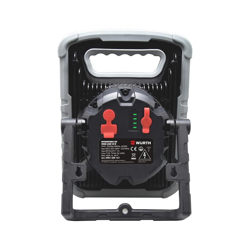Phare de travail à LED Ergopower Dual 20 W - LGHT-BTRY-LED-(ERGOPOWER-DUAL)-CH-20W
