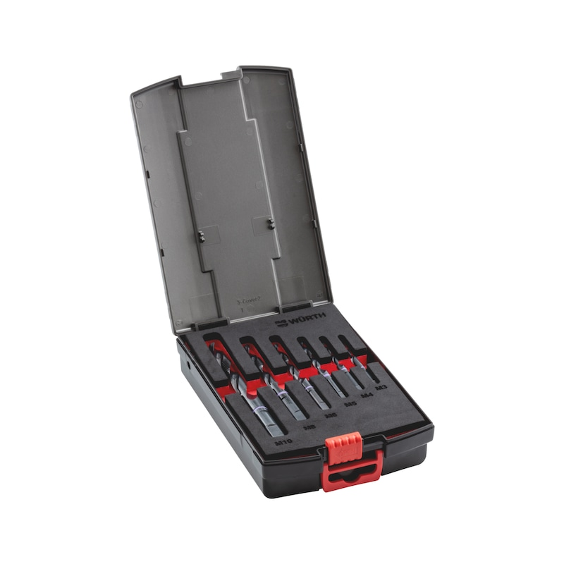 Kombigewindebohrer Sortiment  HSCo Multi Performance M3-M10 - 1