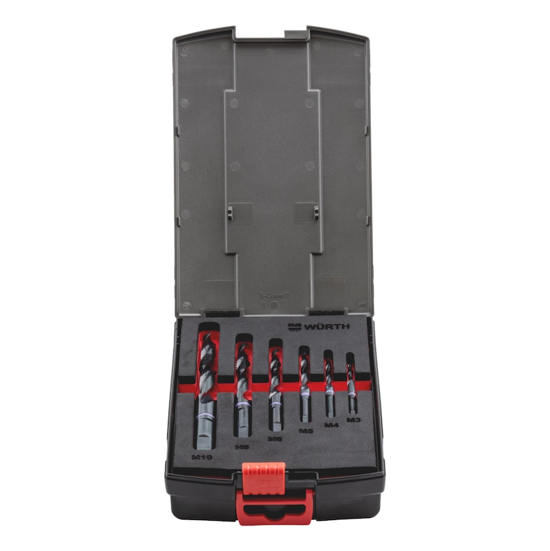 Kombigewindebohrer Sortiment  HSCo Multi Performance M3-M10 - MGBO-SORT-KOMBI-HSCO-MULTI-PERFM-(M3-10)