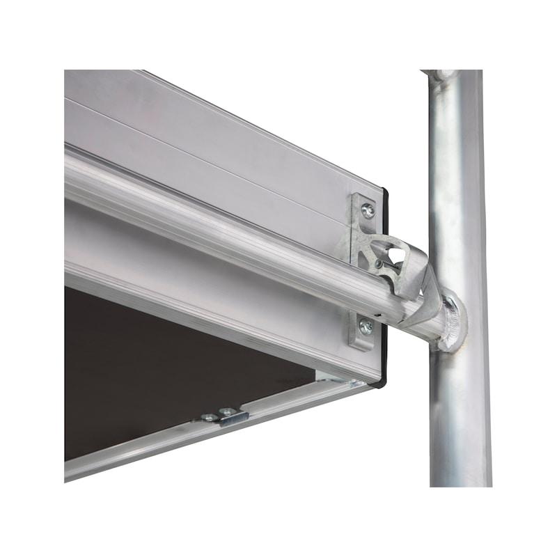 Echafaudage roulant en aluminium plateau 2m - 10