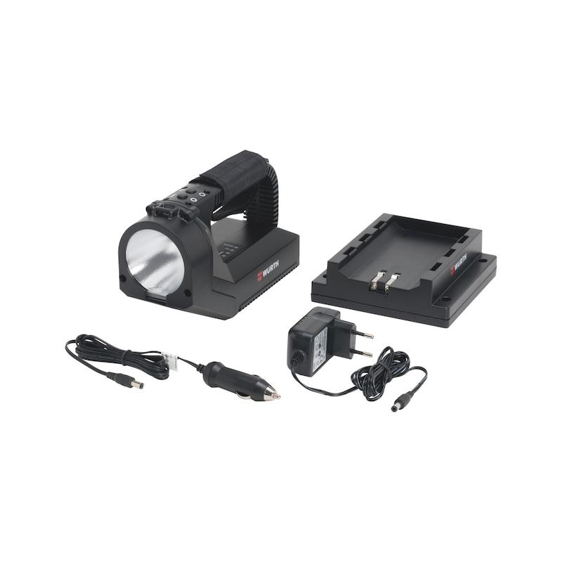 LED-/Akku-Handscheinwerfer 12-Volt
