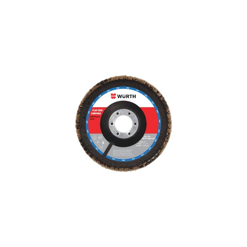 Alüminyum oksit kumlu flap disk - FLAP DISK ALUMINYUM OKSIT 40 KUM