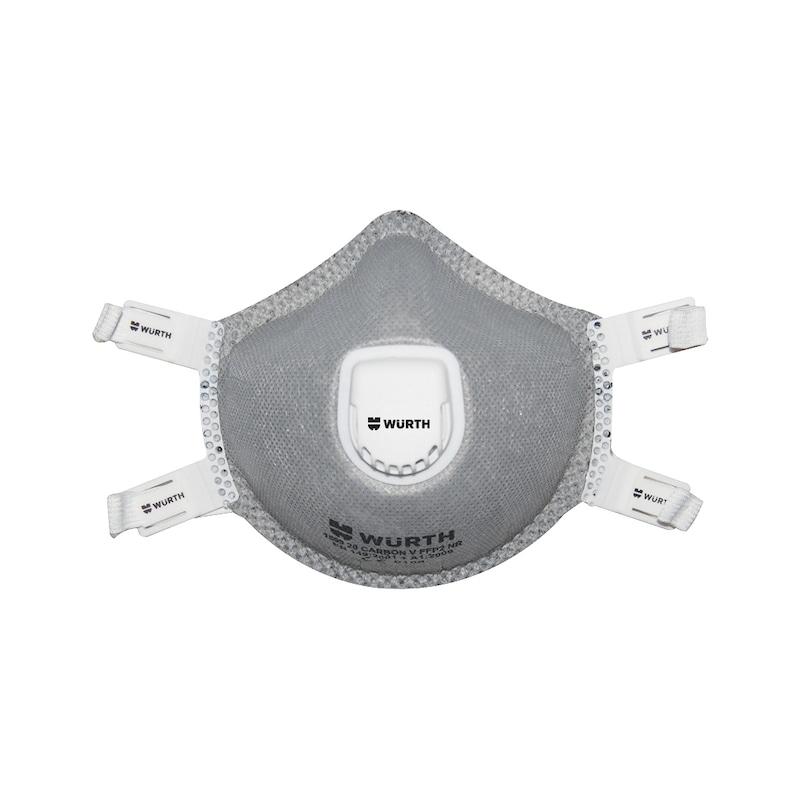 P2 Karbonlu profesyonel solunum maskesi Ventilli - P2 PROF.KARBONLU SOLUNM MASKESİ-VENTİLLİ