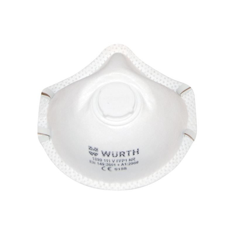 P1 kubbeli solunum maskesi Ventilli - P1 KUBBELİ SOLUNUM MASKESİ VENTİLLİ