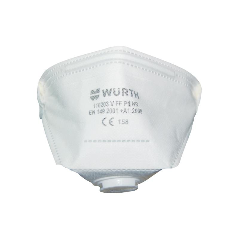 P1 katlanabilir solunum maskesi Ventilli - P1 KATLANABİLİR SOLUNUM MASKESİ VENTİLLİ