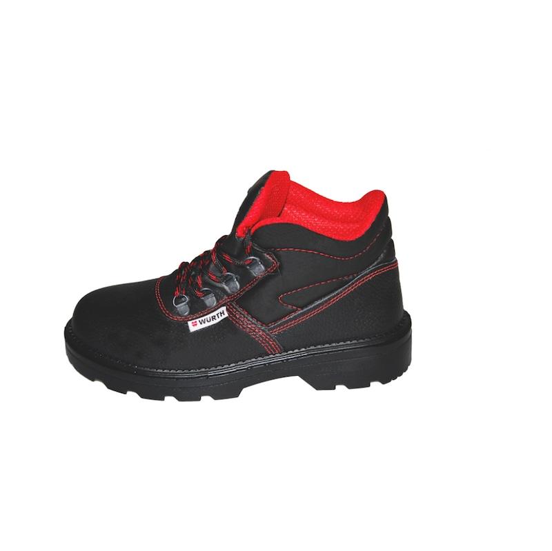 S1 Boğazlı iş güvenliği ayakkabısı Siyah