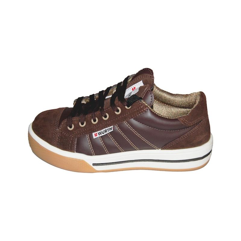 S3 İş güvenliği ayakkabısı spor - deri Kahverengi - S3 İŞ GÜVENLİĞİ AYAKKABISI SPOR KAHVE 43