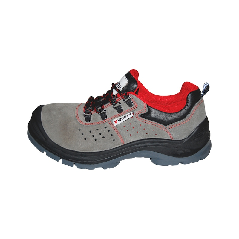 S1 İş güvenliği ayakkabısı süet gri