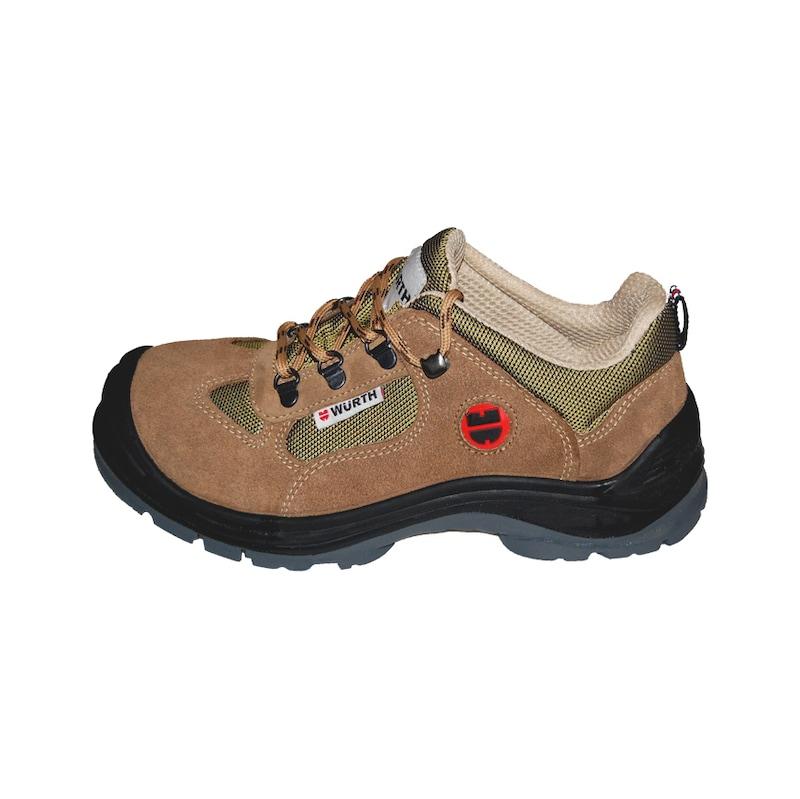 S1-P iş güvenliği ayakkabısı süet Bej - S1P İŞ GÜVENLİĞİ AYAKKABISI SÜET BEJ 44