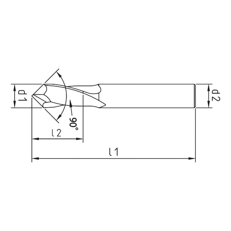 VHM-Multifräser, 90° - 2