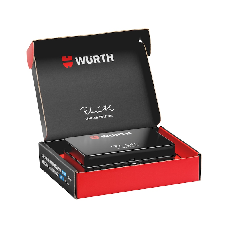 Sada nástrčných klíčů a bitů Reinhold Würth Limited Edition - SADA NÁSTRČNÝCH KLÍČŮ-RW2020-29D