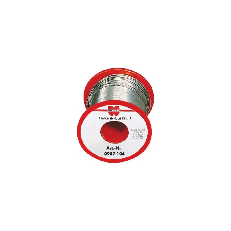 Filo di apporto per elettronica n. 10 - STAGNO P/ELETTRON. 0,7MM SN60-1000GR