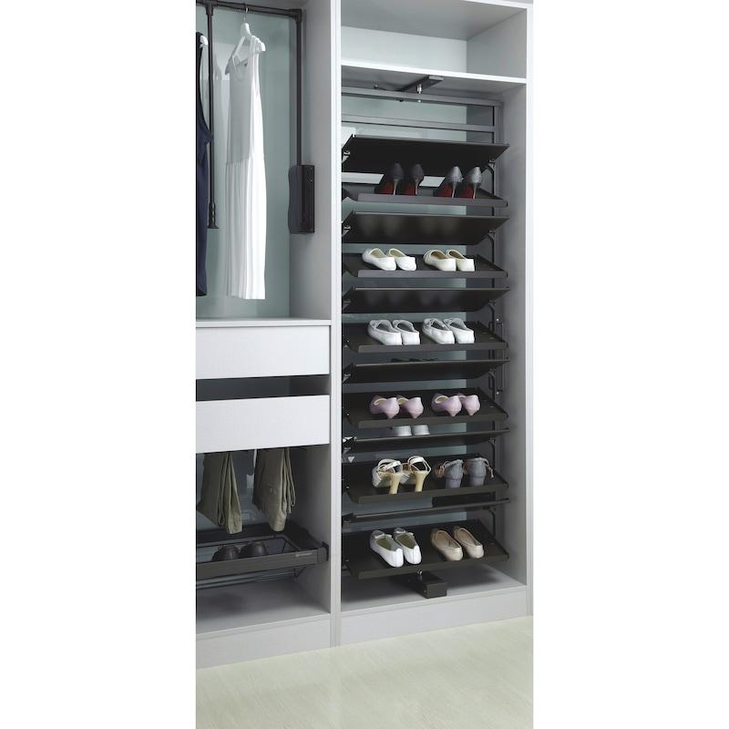 Schuhschrank-Schwenkbeschlag - 3