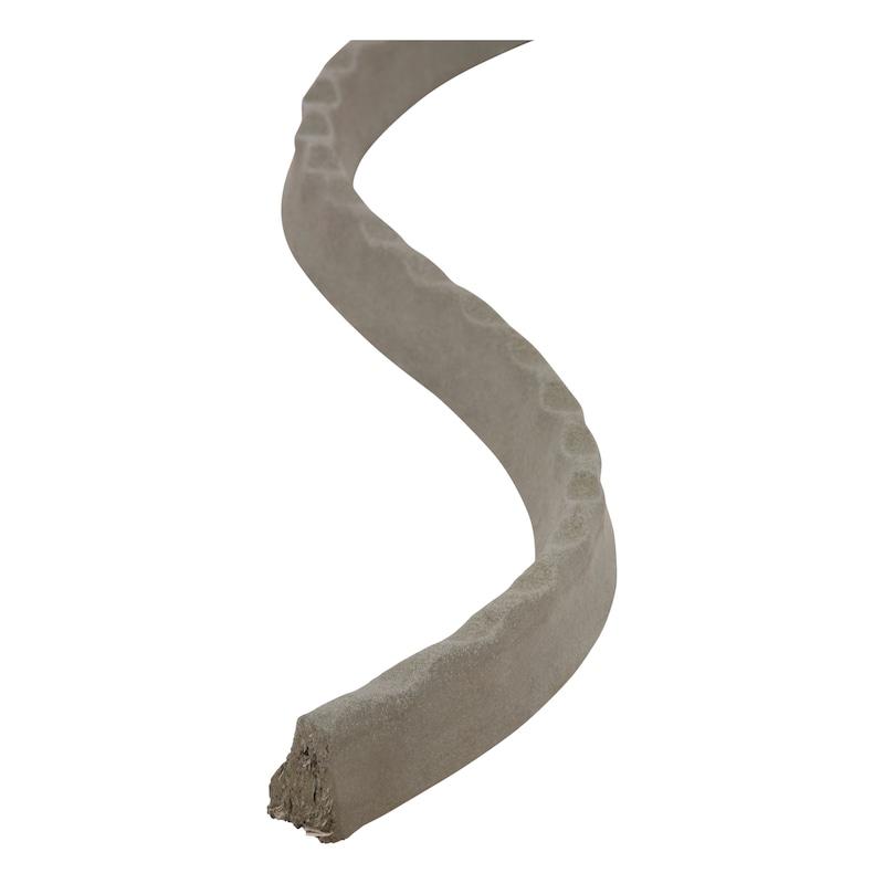 Faserbeton-Schlange mit Noppen