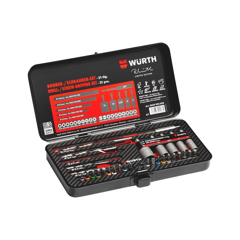 Drill/screwdriver set RW Edition 2020 - DRL-MET-SET-(RW-EDITION-2020)-31PCS