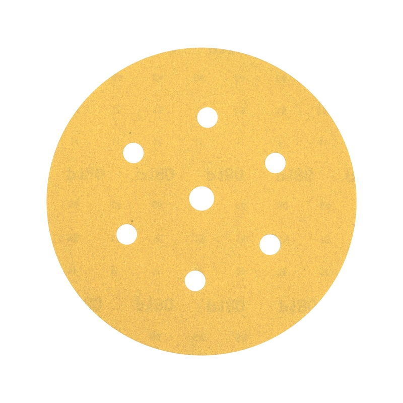 ARIZONA Kuru zımpara diskleri - CIRTLI KURU ZIMP(ARİZ.PERF)7DEL.P60-D150