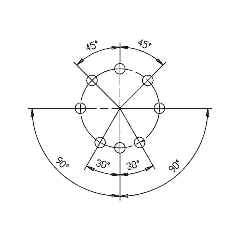 Profil-Halbzylinder W10KG - 3