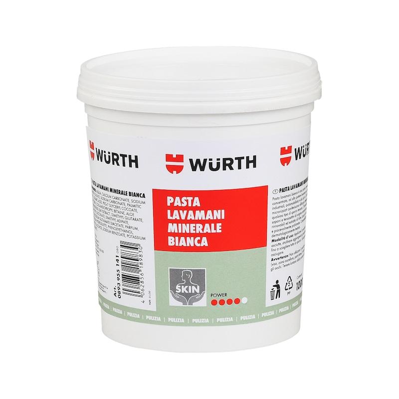 Crema lavamani con abrasivo minerale