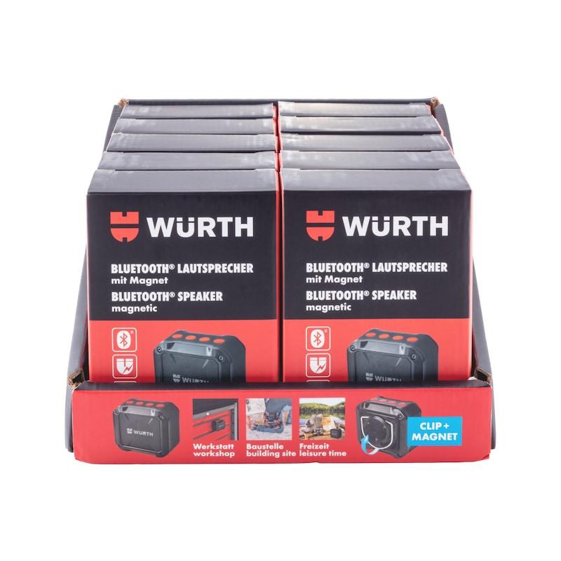 Bluetooth<SUP>®</SUP>-Lautsprecher mit Magnet - 8