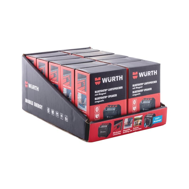 Bluetooth<SUP>®</SUP>-Lautsprecher mit Magnet - 7
