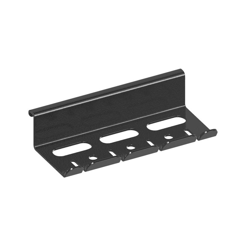 Työkaluteline, -pidike, sivulle ruuvitalttojen, avainten ja pihtien säilytykseen työkaluvaunussa - TYÖKALUVAUNUN TYÖKALUTELINE