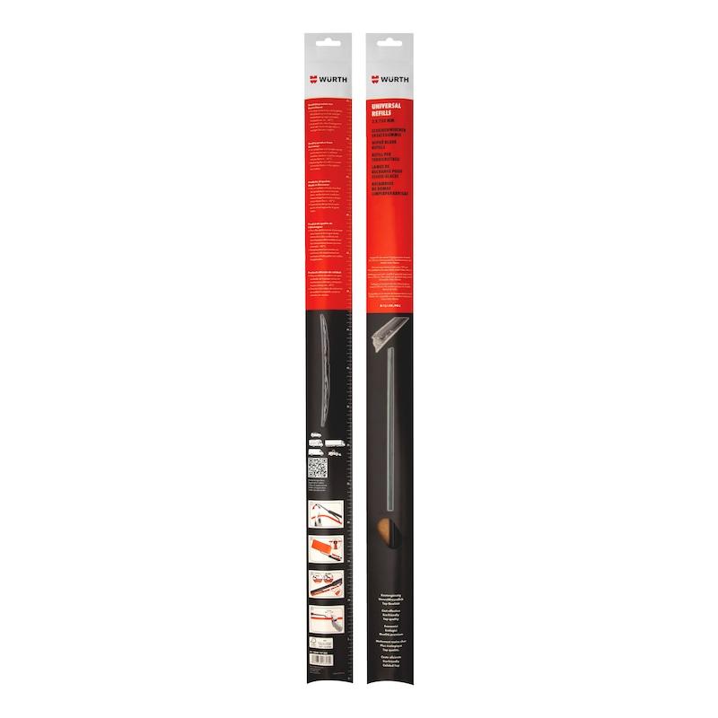 REFILLS per tergicristallo standard, negozio - REFILL-P-SPAZZ-TERGI-STANDARD-6,3-750MM