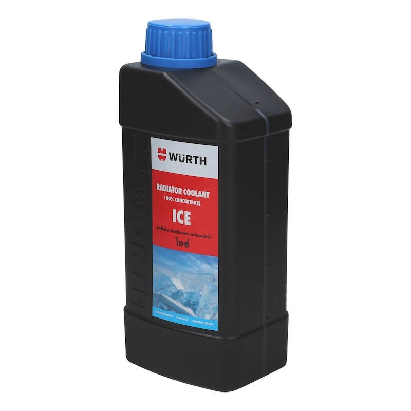 น้ำยาหล่อเย็นหม้อน้ำเข้มข้น ไอซ์ - น้ำยาหม้อน้ำ-เข้มข้น100%-น้ำเงิน-1ล.