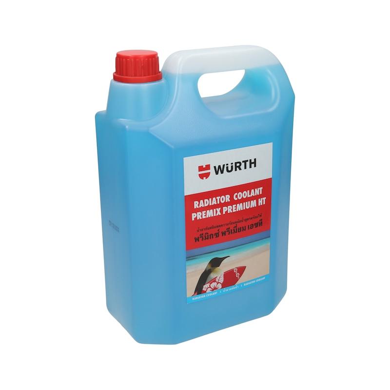 น้ำยาหล่อเย็นหม้อน้ำ พรีเมียม HT - น้ำยาหม้อน้ำเข้มข้นPREMIX-HTน้ำเงิน5ล.