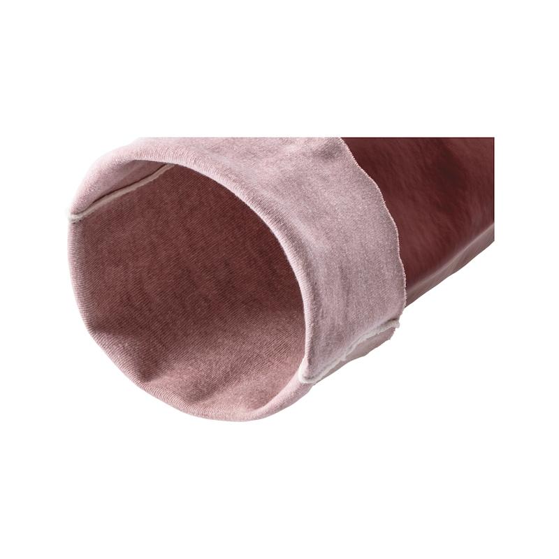 Chemical protective glove PVC w. backing fabric - REKAWICE CHEMICZNE PVC 580MM R.9