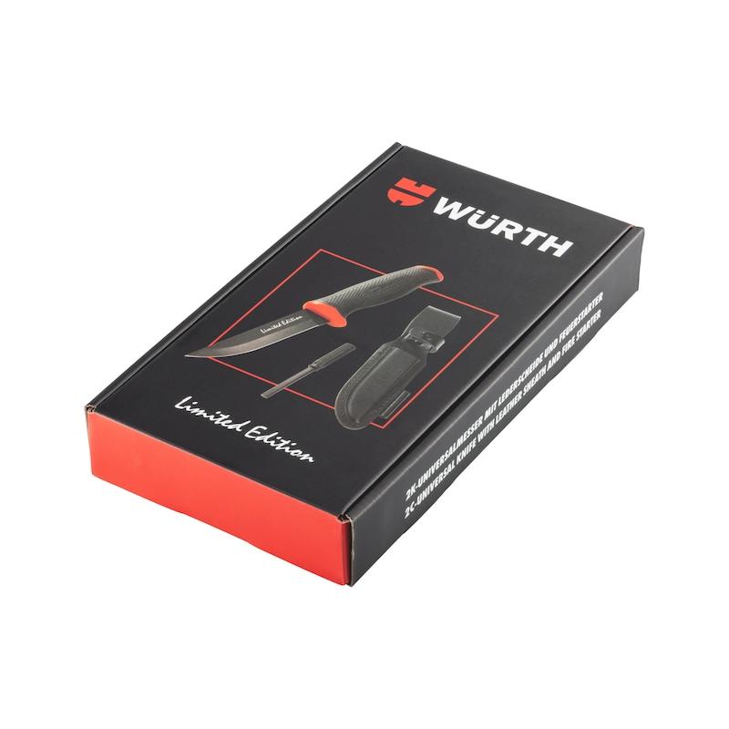 2K-Universalmesser Set Limited Edition - MESS-UNI-SET-M.SCHEIDE/FEUERSTARTER-3TLG