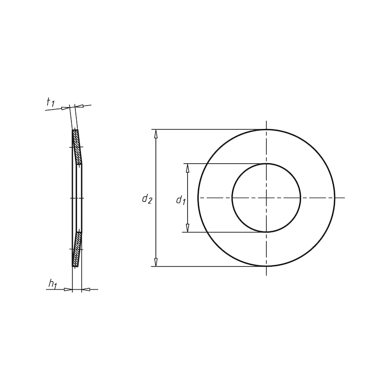 Rondelle élastique - 2