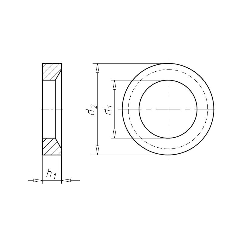 Kegelpfanne Form D - 2