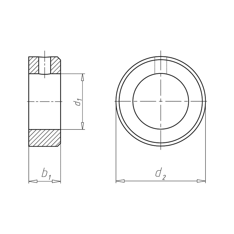 Stellring Form B - STLRG-DIN705-B-D12