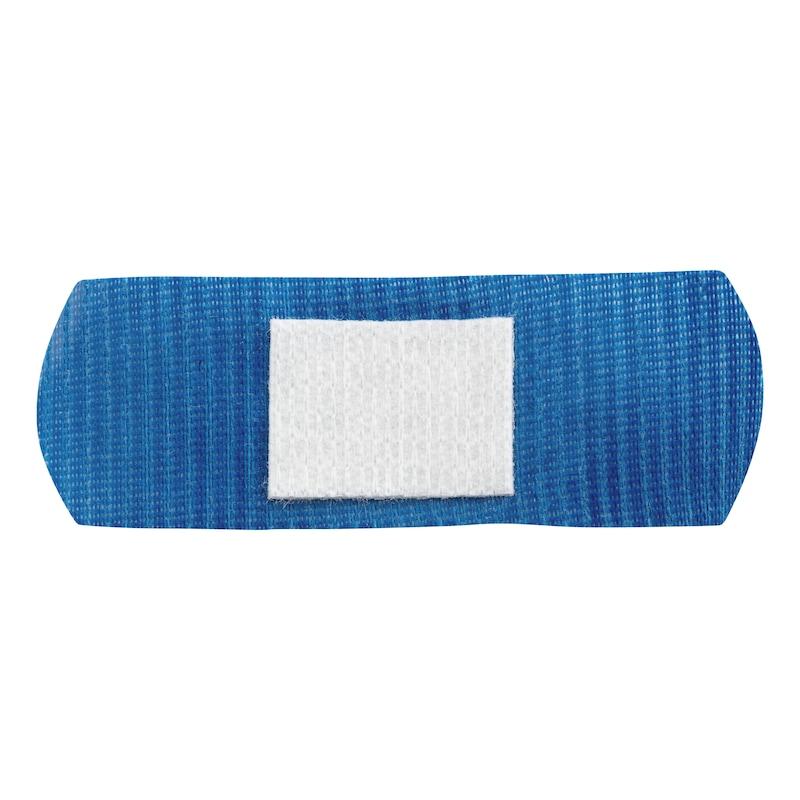 Pflasterstrips detektierfähig blau metallhaltig  - 1