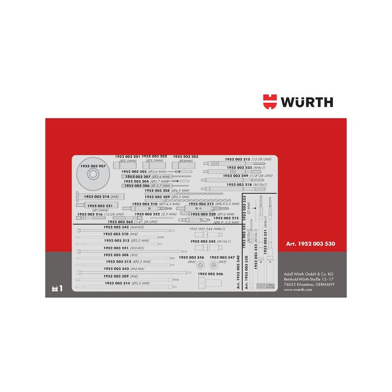 Kit de dépose de bougie de préchauffage Module n° 1 Ford, PSA - KIT UNIV PERC PRECH M8-M10X1