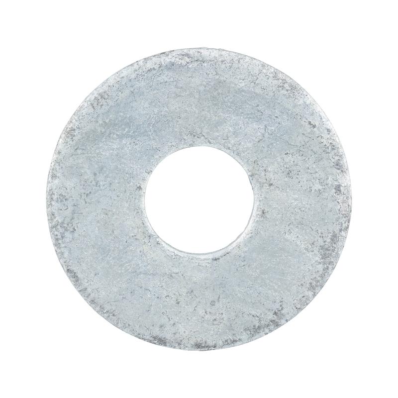Flache Scheiben  mit großem Außendurchmesser  - 1