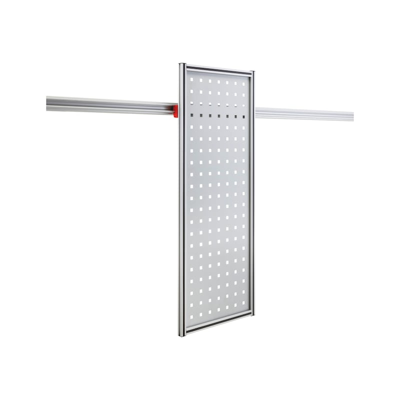 Holder for CLIP-O-FLEX rail Perfoflex high - COF-HALTER-PERFOFLEX-325X855MM